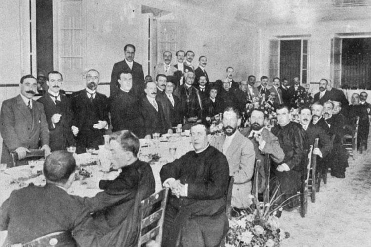 Apertura del curso 1913, Real Colegio Mayor San Bartolomé y Santiago, Universidad de Granada