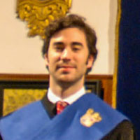 Gabriel García Escobar, Colegial Superior, Real Colegio Mayor San Bartolomé y Santiago, Granada