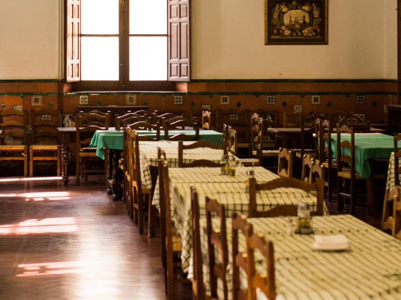 Comedor | Real Colegio Mayor San Bartolomé y Santiago