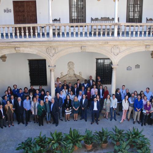 Fiesta de la familia del Real Colegio Mayor San Bartolomé y Santiago, curso 2018-2019
