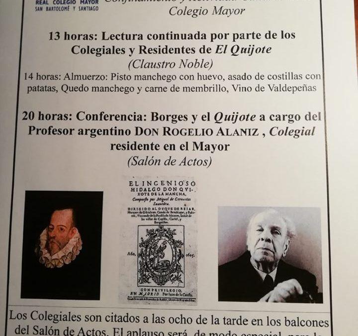 Actos culturales durante el confinamiento en el Real Colegio Mayor San Bartolomé y Santiago, residencia de estudiantes en Granada